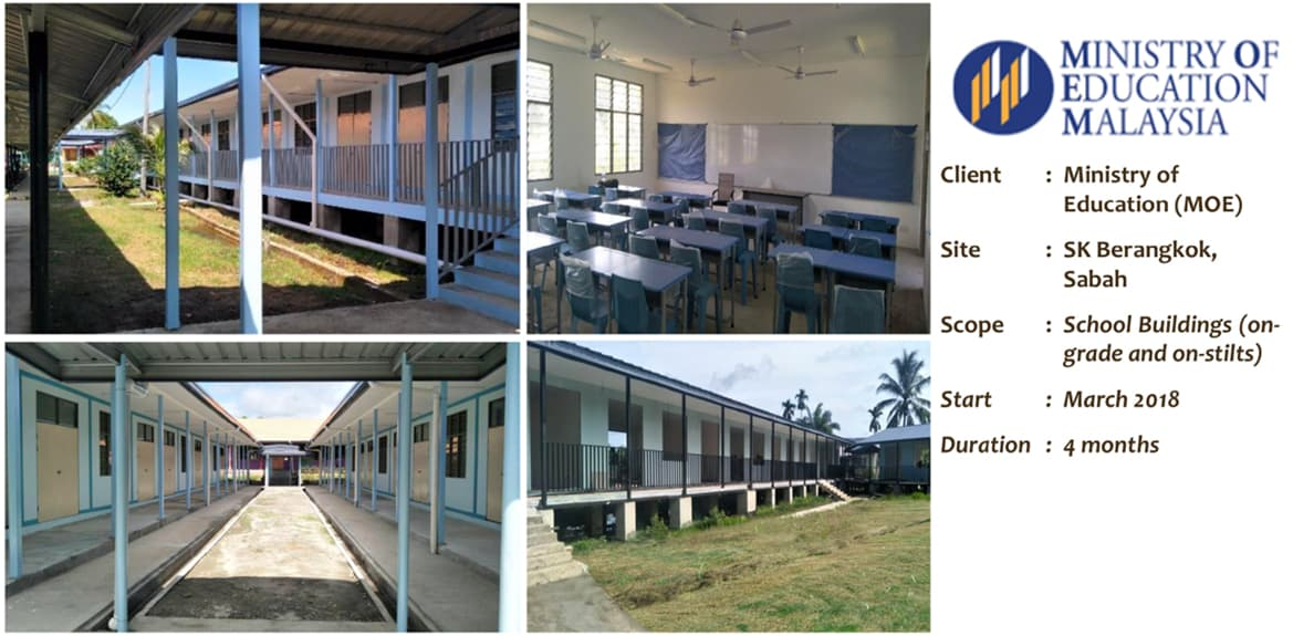 Ministry of Education Malaysia - IBS Industrialized Building System Projects