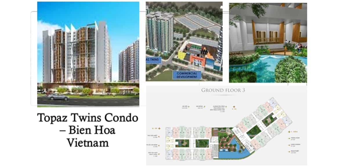 Topaz Twins Condo - Bien Hoa Vietnam - IBS Industrialized Building System Projects