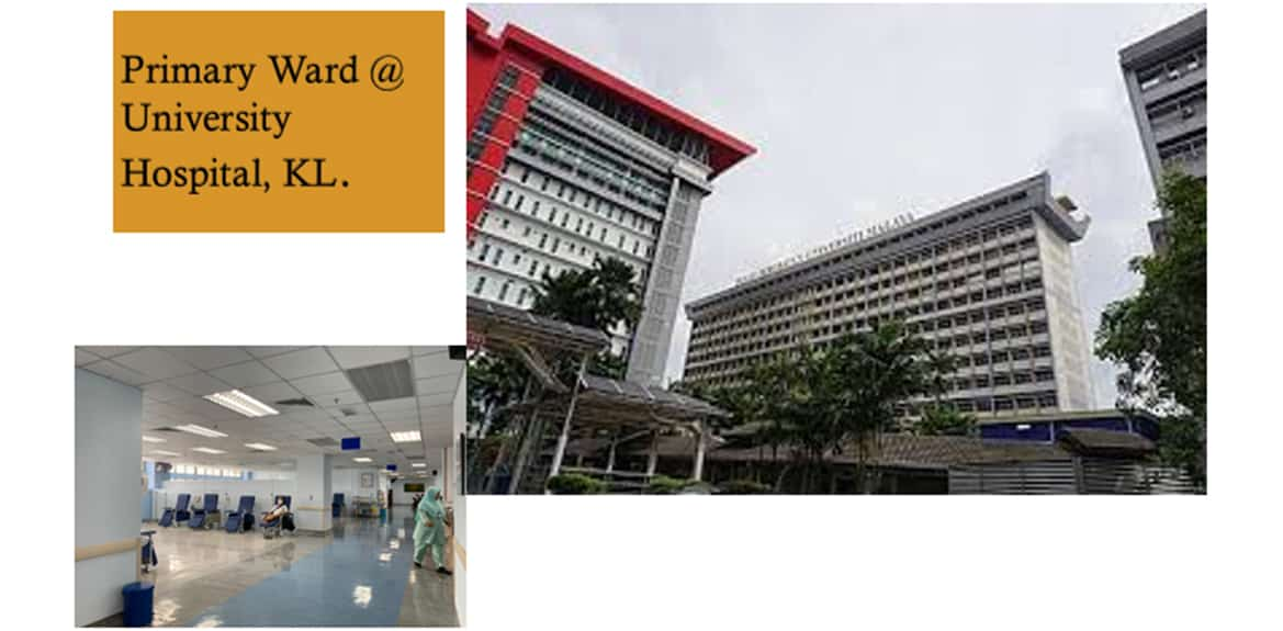 Primary Ward @University Hospital, KL - IBS Industrialized Building System Projects