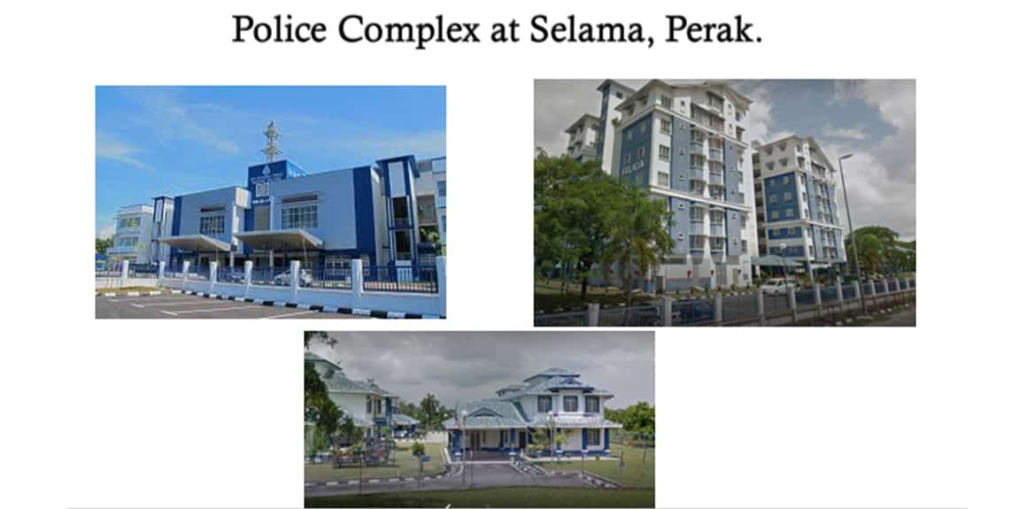 IBS Industrialized Building System Projects - Police Complex at Selama, at Perak